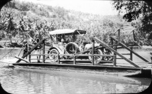 Ferry Crossing in Ceylon