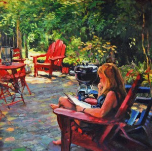 Morning Coffee by Claudia Fountaine - Best in Show