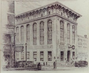 Kelsey Building by George Bradshaw