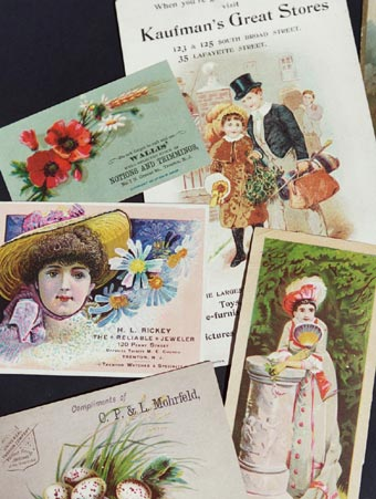 Historical Objects: Selection from Trenton Trade Cards