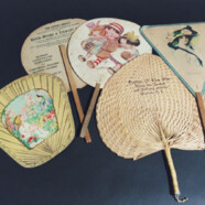 Historical Objects: Selection from Trenton Advertisement Fans