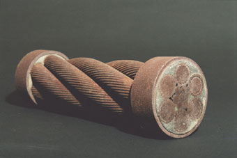 Industrial Artifacts: Segment from Bridge Cable