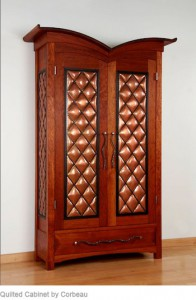 Quilted Cabinet
