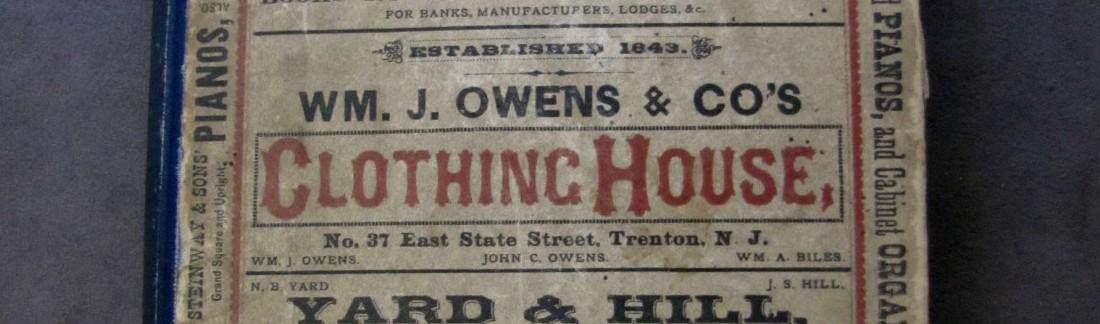 Boyds' Trenton City Directory 1876-77