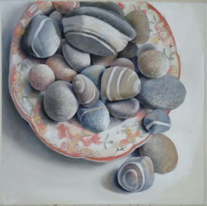 Mutable Stones, Red Plate Margarete deSoleil