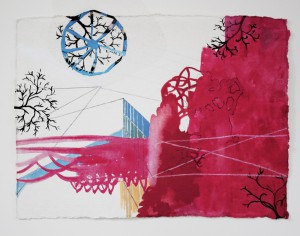 Blue Wheel, Alyce Gottesman