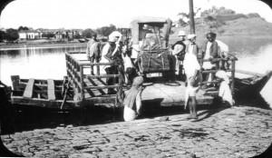 River crossing at Thana, India