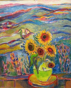 Jehudith Sobel  Sunflowers