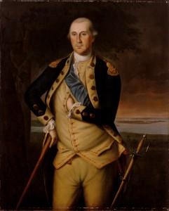 1776 George Washington Portrait by Peale
