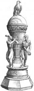 Baseball Vase