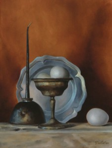 Jeanne Chesterton, B'Oiled Eggs, Oil