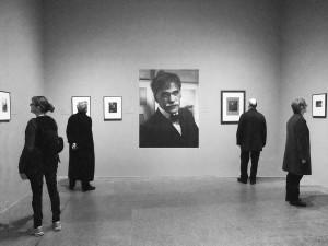 Lionel Goodman, Steichen on Steiglitz, photograph