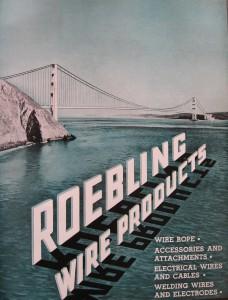 Roebling Brochure