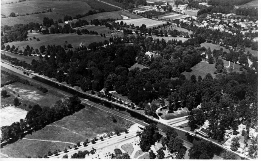 Cadwalader Park in the 1920's