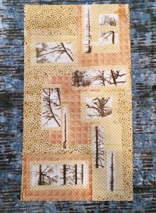 Jean Burdick, Fragmented Branches, Honorable Mention - Fiber Art