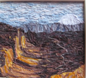 Lynne Hoffman, Canyon II, C&C Curator's Award Best in Show - Fiber Art
