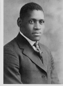 Paul Robeson Yearbook Picture Rutgers College