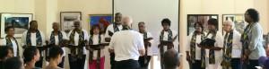 Howard Crossland and the Echo Choir