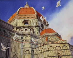 morales-arturo-peace-doves-over-ill-duomo-s