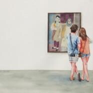 Watercolor Show Gallery Walk