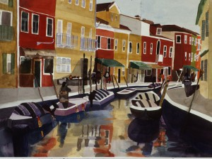 Angela Barbalace, Venice Boats Italy
