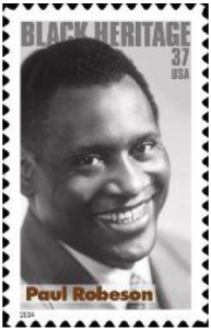 Robeson stamp