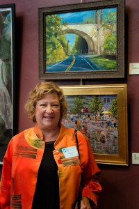 Connie Dierks, Train Bridge over the Delaware