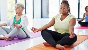 yoga b&w
