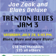 Joe Zook and the Blues Deluxe in Trenton Blues Jam 3