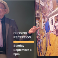 Live Painting and Closing Reception Gallery Talk