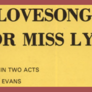 A Lovesong for Miss Lydia