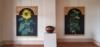 Dallas Piotrowski, paintingsAundreta Wright, ceramic pot