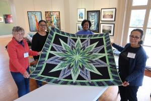 Carol Hill, Mada Coles Galloway, Linda McRae, Diane Ciccone with Midnight Star by Linda Salley