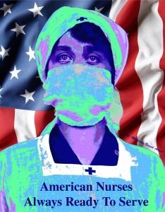 American Nurse Poster