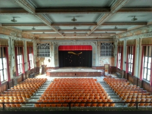Auditorium; photograph by Robert J. Sammons