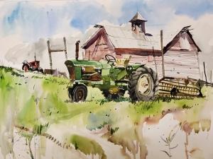 John Deere Tractor - Howell Farm, Hopewell