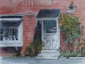 Marge Chavooshian - The Antique Shop