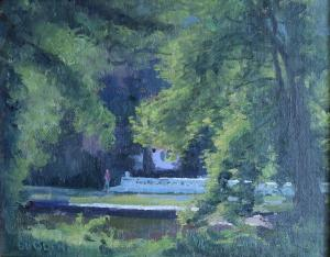 Michael Budden - Morning Light, D&R Canal from Cadwalader Park