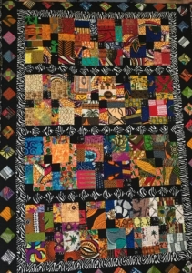 Disappering NinesRose MillerPrinceton Sankofa Stitchers Modern Quilt Guild