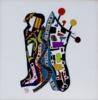 NOT - A Correlative Conjunction - Geri HahnHonorable Mention - Fiber Art