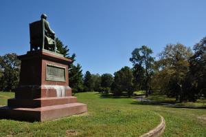 Roebling statue