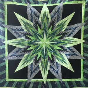 Midnight StarLinda SalleyPrinceton Sankofa Stitchers Modern Quilt Guild