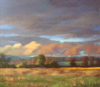 Summer Evening Front, Stroud Series - Gregory Blue