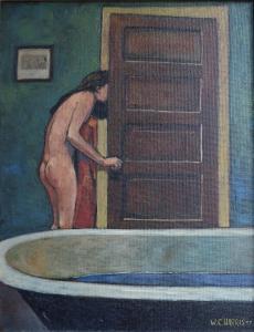 W.C. Harris - Peeking Out the Back